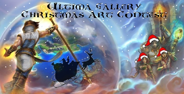 Ultima Gallery Christmas Art Contest