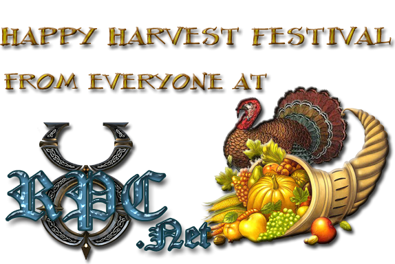 Happy Harvest Festival!