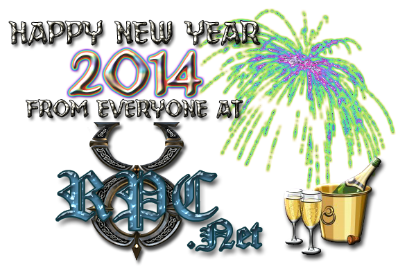 Happy New Year 2014 from everyone at UORPC.net!