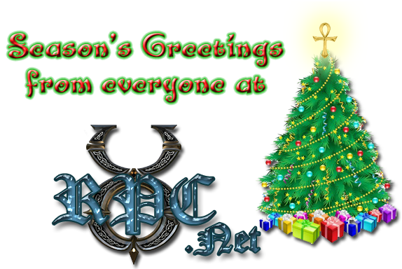 Season's Greetings from everyone at UORPC.net