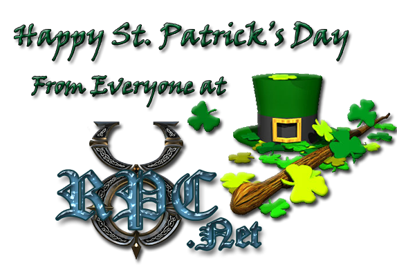 Happy St. Patrick's Day from everyone at UORPC.net