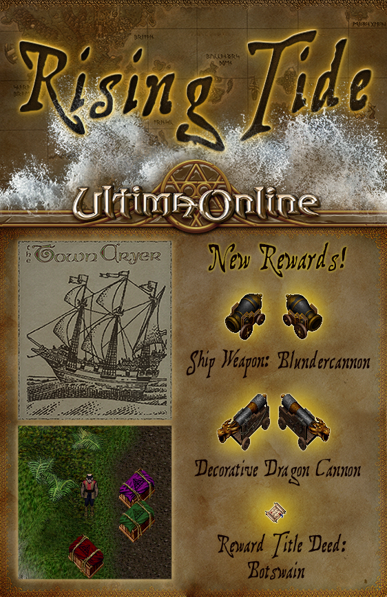 Rising Tide – New Rewards for the Month of April! - UORPC NET