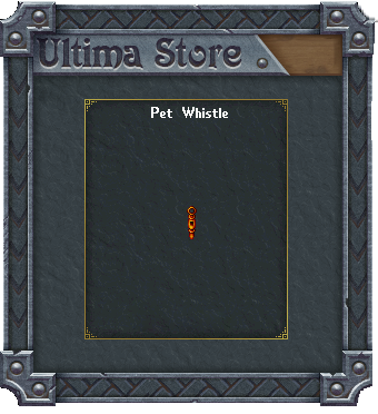 Pet Whistle