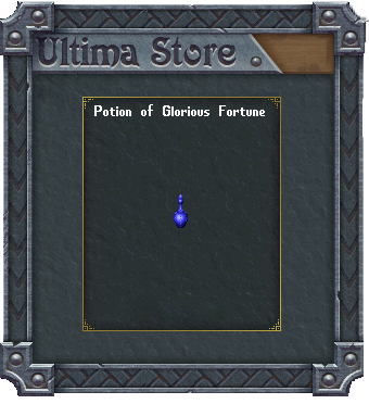Potion of Glorious Fortune